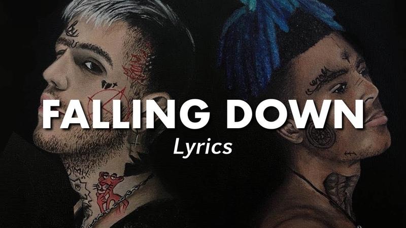 LiL Peep XXXTentacion - Falling Down (Lyrics) | (Cover art by Rachel Gold) | MF♫ | vk.com/muzofaka