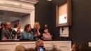 Картина Бэнкси за 1'4 млн долларов самоуничтожилась сразу после продажи