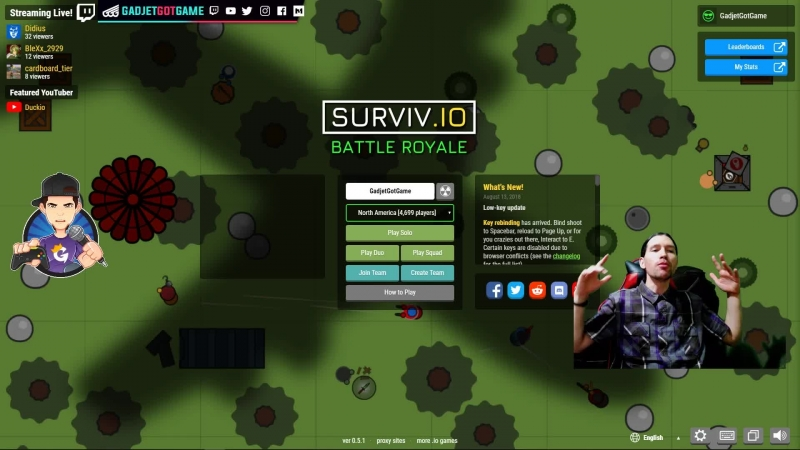 [ENG/ESP] Popping Off in Surviv.io