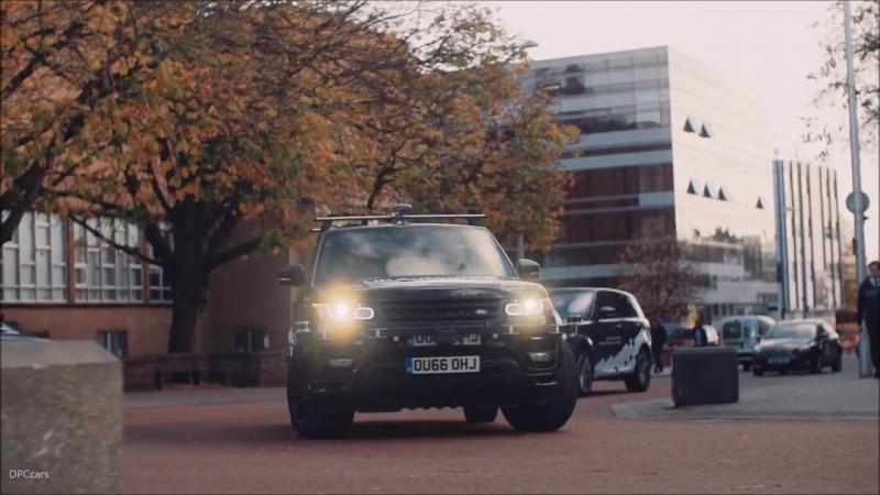 Беспилотные автомобили Jaguar Land Rover на общественных дорогах Ковентри, Великобритания